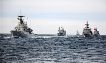 SNMCG2 exercising with Turkish Navy