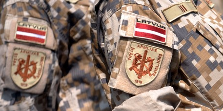 Latvia gets ready to sign up 400 professional soldiers