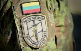 Sgt Nakvosas: Strength of Baltic Battalion lies in unity
