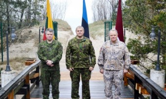 Baltic Chiefs of Defence discuss Security situation