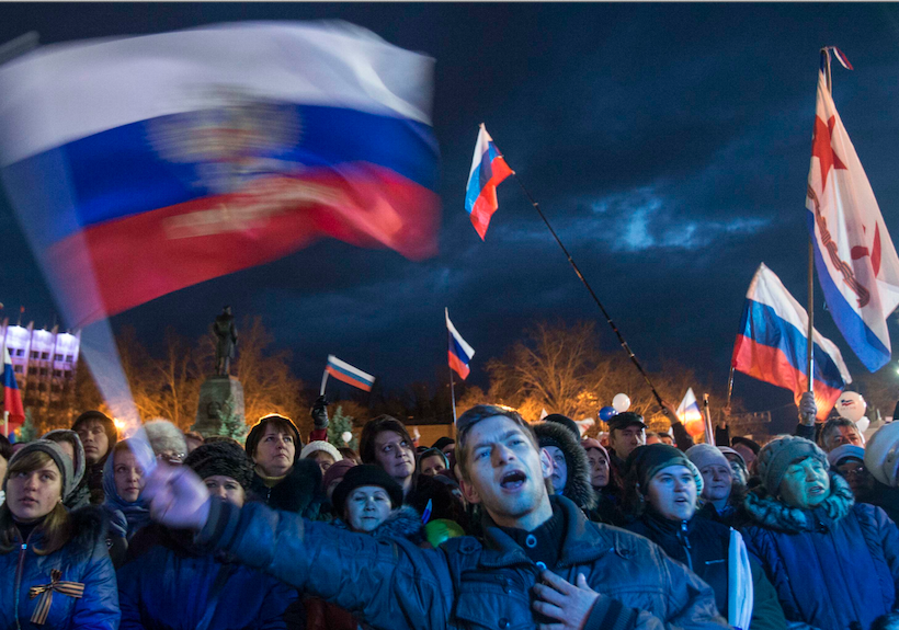 A year after Crimea