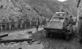 Balkan, Spähpanzer, bulgarische Soldaten